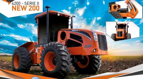 tractor zanello 4200 new 200