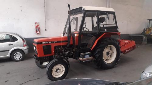 tractor zetor 7711  1999 sin desmalezadora di buono autom