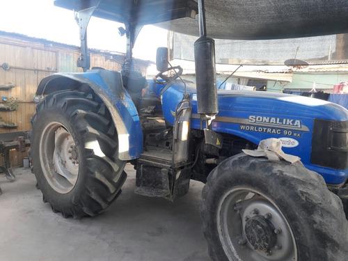 tractor  zonalika de 90hp +rastra+arado+picadora de chala