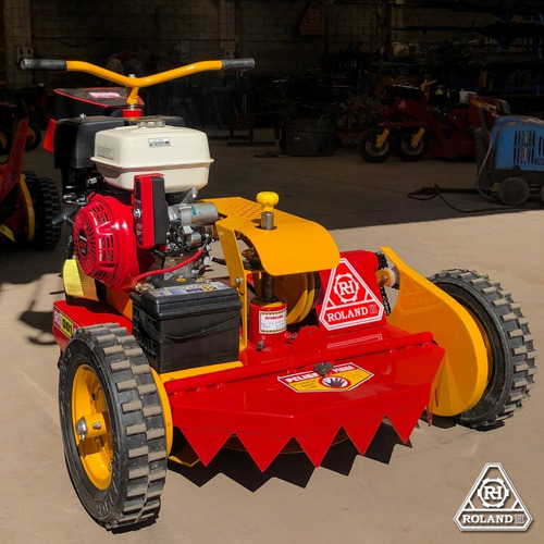 tractorcito corta cesped y malezas roland h pro 13.5 hp