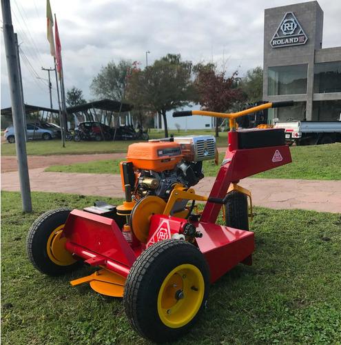 tractorcito cortacesped y malezas rh001 pro motor honda 13hp