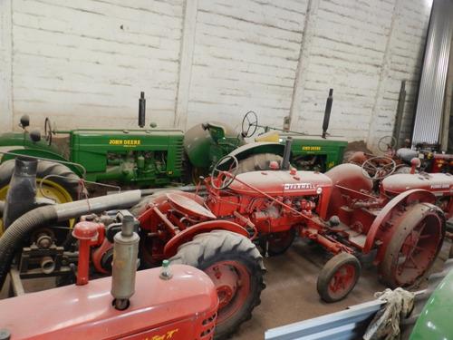 tractores antiguos, importante colección, restaurados y func
