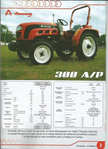 tractores hanomag 300a 2017