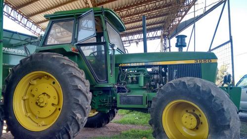 tractores john deere 3550, doble salida hidráulica