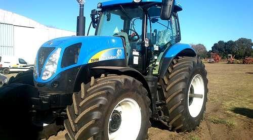tractores new holland t6080 (155cv) / 6090 (165cv) ingles