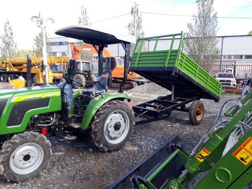 tractores parquero doble traccion con pala