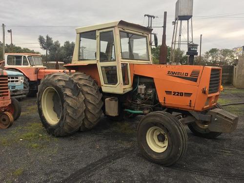 tractores zanello 220 motor m.benz 1215, 140 hp duales