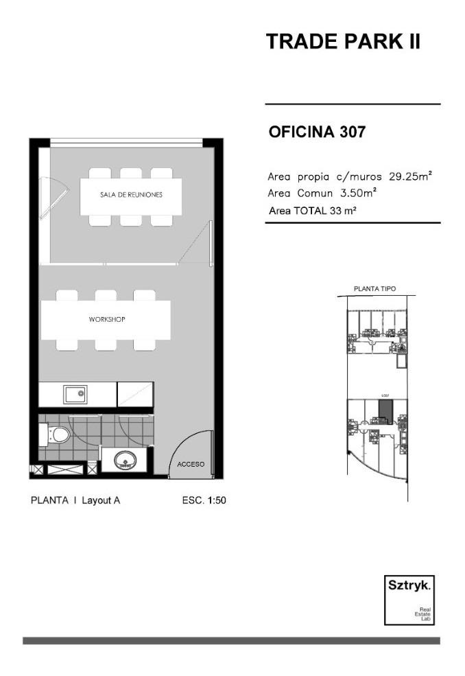 trade park ii (u307).  i tu oficina ideal para rentar