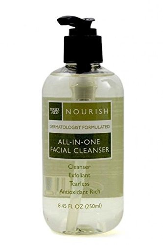 trader joes nourish all-in-one-facial cleanser