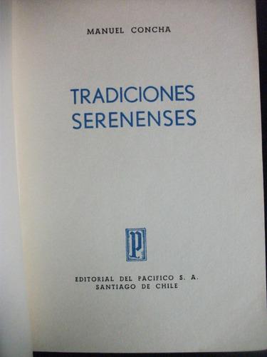 tradiciones serenenses / manuel concha, 1953