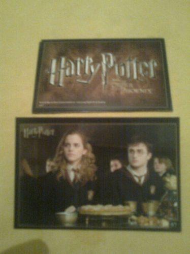 tradings cards nº 57  harry potter  ( la orden del fénix)