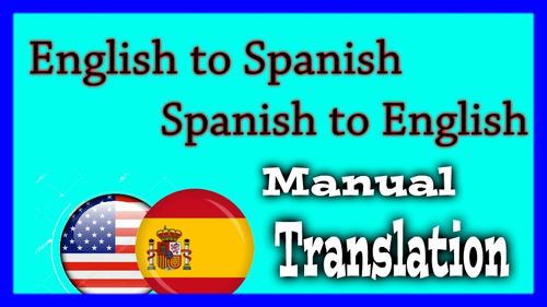 traducción de ingles a español y viceversa