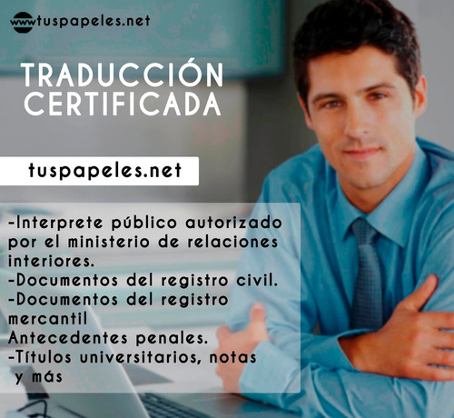traducción legal inglés - traductor certificado - interprete