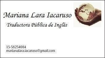 traducción pública (inglés-español y español-inglés)