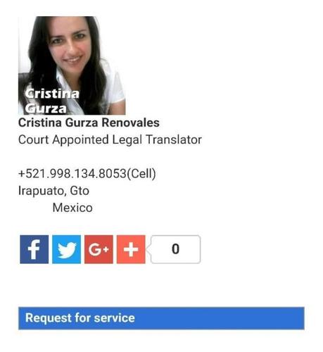traducciones de documentos legales