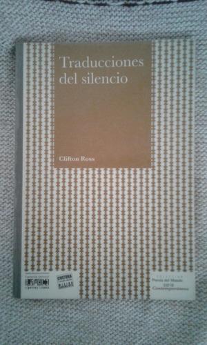 traducciones del silencio/ clifton ross (1 verde)