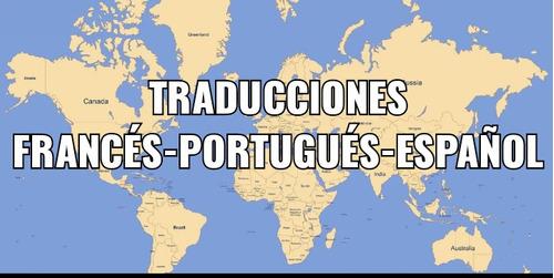 traducciones  francés portugués