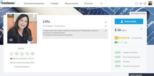 traducciones inglés-español francés-español y alemán-español