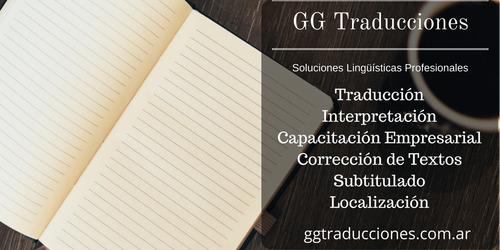 traducciones inglés - español públicas | intérprete |