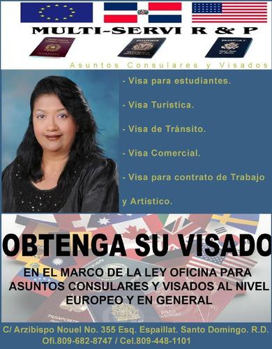 traducciones migratorias rd, trámites consulares, visados