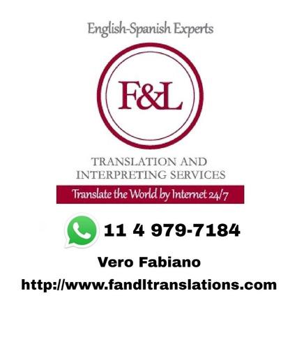 traducciones públicas, literarias, técnicas (firma digital)