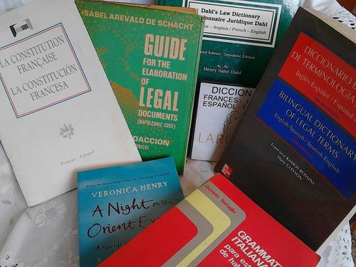 traducciones. revision estilo. ingles francés español