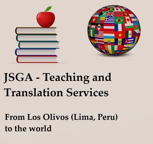 traducciones y clases de inglés