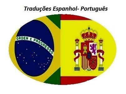 traduções de espanhol para o português e vice-versa