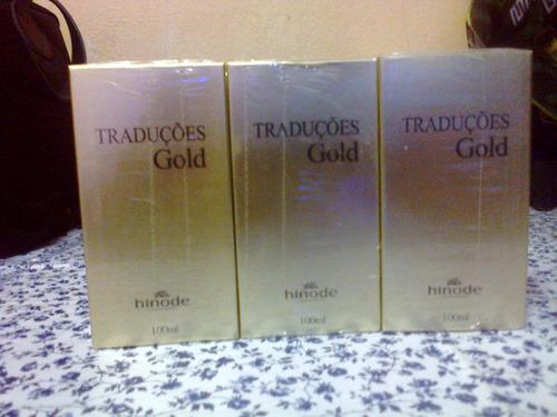 traduções gold nº 7 polo black 100 ml