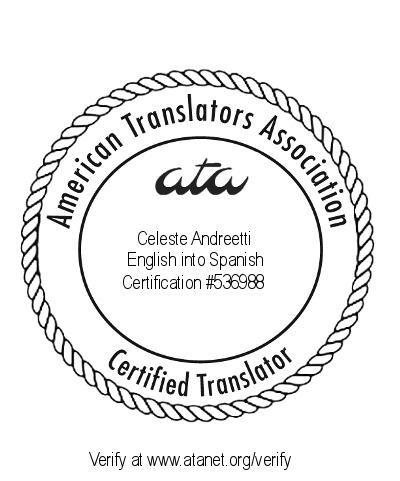 traductora pública inglés certificada ata matrícula ctpcba