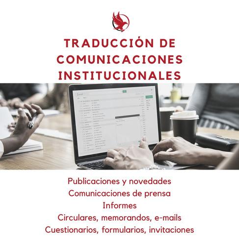 traductora pública técnica inglés matriculada ctpcba