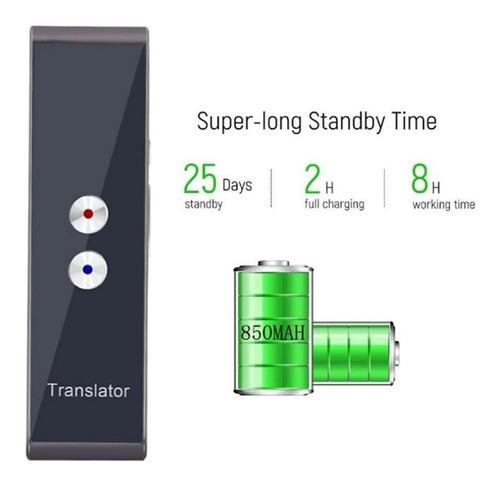 tradutor t8 digital de voz instantaneo bluetooth android ios