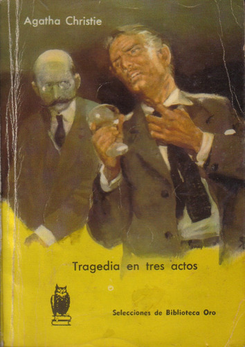 tragedia en tres actos / agatha christie