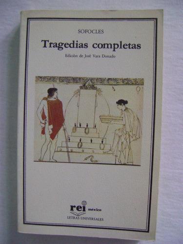 tragedias completas - sofocles