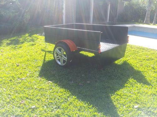 trailer 1.24 x2.25 c/rampa cuatri moto karting