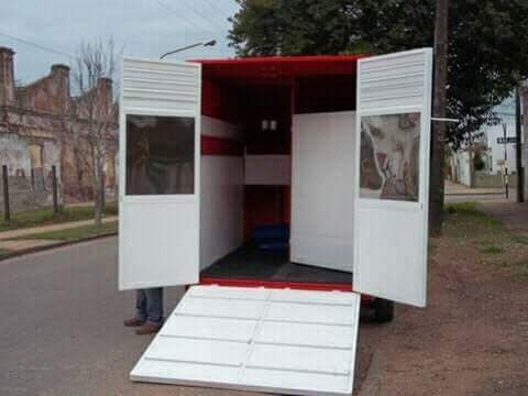 trailer  2 caballos tecnar mod tce2 patentable cisne