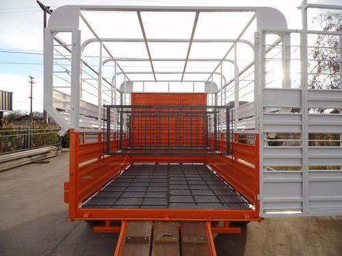 trailer 4 caballos iva incluido jaula de fabrica carro