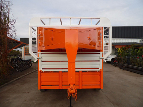 trailer 4 caballos iva incluido jaula de fabrica cheques