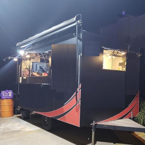 trailer 4,00x2,50 inteiro de inox documentado