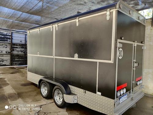 trailer 4.30 d/eje tipo americano. pago dolar billete d4.500