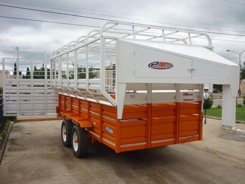 trailer 7 caballos iva incluido jaula de fabrica con cheques