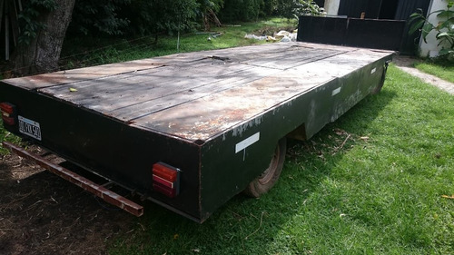 trailer acoplado rural 5.80 mts.
