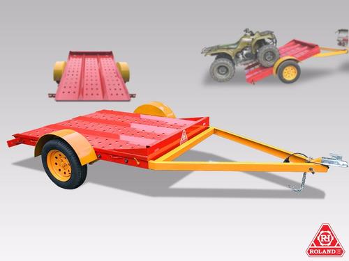 trailer acoplado vehicular roland h900