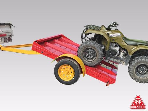 trailer acoplado vehicular roland h900 básico