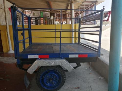 trailer adaptable para moto o para carro