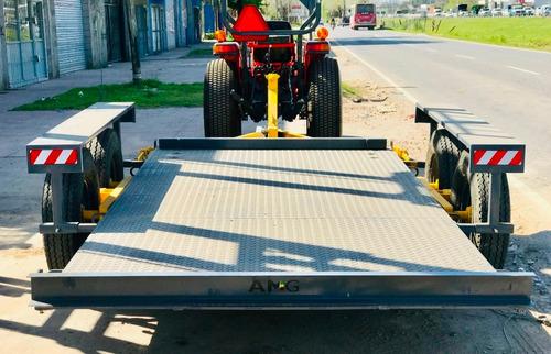 trailer agricola planchada basculante bellmaq 4x1.90 5/6 tn
