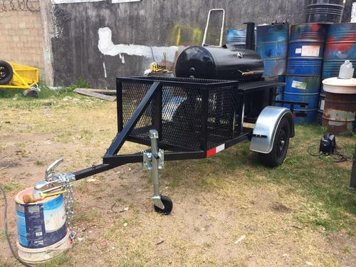 trailer ahumador