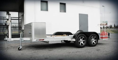 trailer aluminio para auto mediano // alutrail //