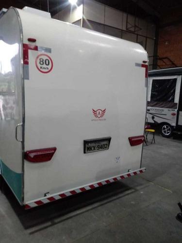 trailer apolo toy - motorhome - y@w3