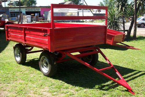 trailer ar-2500 - batan - acoplado - somos fabrica -